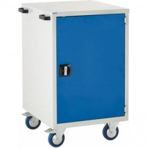 Mobile Cupboard with 1 Shelf - 600mm Wide x 980mm High