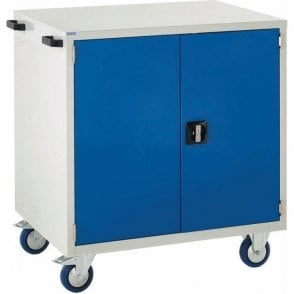 Mobile Cupboard with 1 Shelf - 900mm Wide x 980mm High