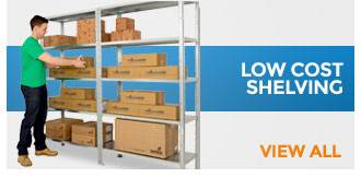 Low Cost Shelving