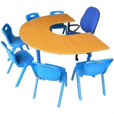 National School Horseshoe Tables