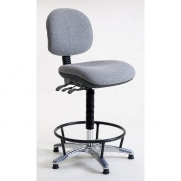 Office High Chair, Heavy Duty 25 stone / 160kg user