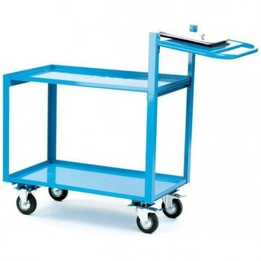 Order Picking Trolleys with Folder Shelf