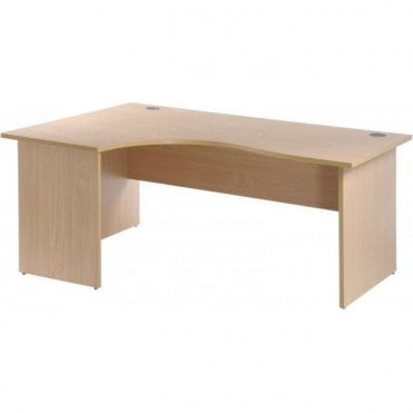 Panel End Radial Desks