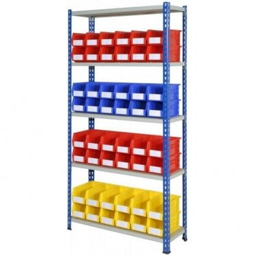 Picking Bins on J Rivet Racking KIT 01