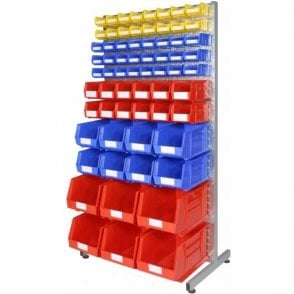 Picking Bins on Louvre Racks KIT A