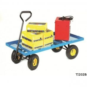 Platform Truck with Flat Deck - Mesh Base