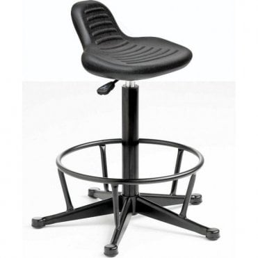 Posture Stool with Mini Back Rest & Foot Rest