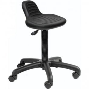 Posture Stool with Mini Back Rest
