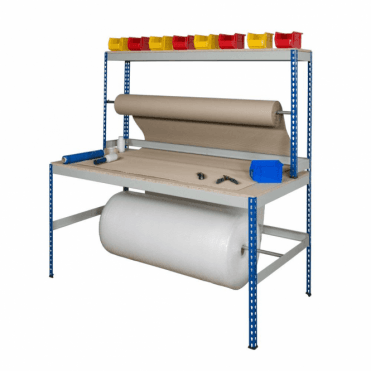 Rivet Rack Packing Benches