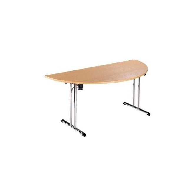 Semi-Circular Folding Table