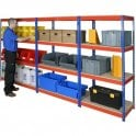 Shortspan Rivet Racking 1830mm high