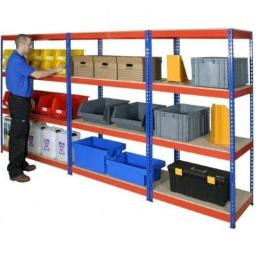 Shortspan Rivet Racking 2440mm high