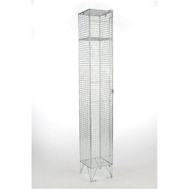 Single Compartment Wire Mesh Lockers