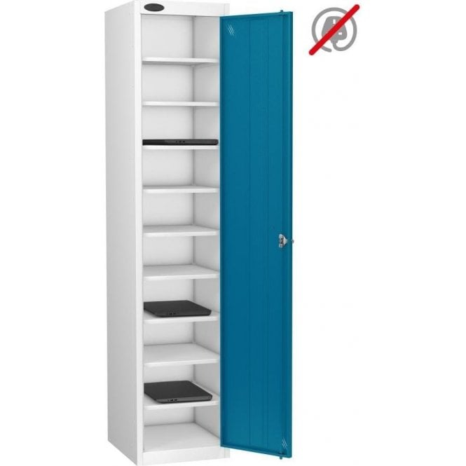 Single Door 10 Compartment Laptop Storage Only Locker