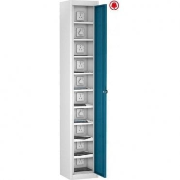 Single Door 10 Compartment Tablet Store & Charge Locker