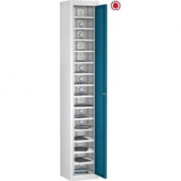 Single Door 15 Compartment Tablet Store & Charge Locker