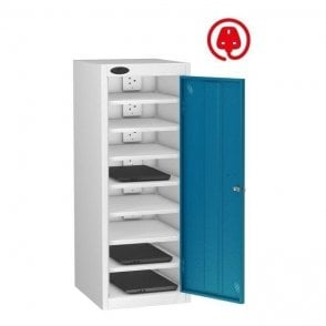 Single Door 8 Compartment Laptop Store & Charge Locker