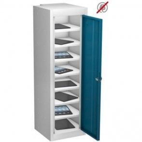 Single Door 8 Compartment Tablet Storage Only Locker