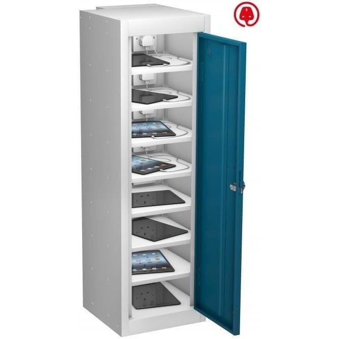 Single Door 8 Compartment Tablet Store & Charge Locker