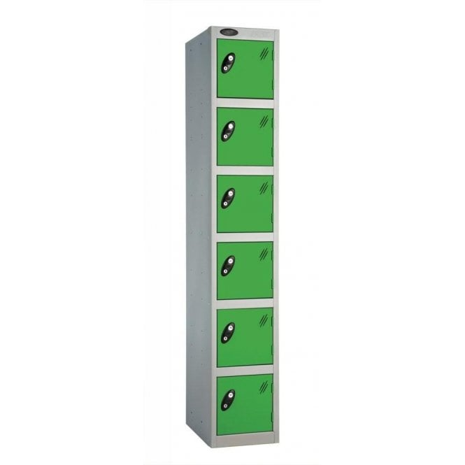 Six Door Lockers