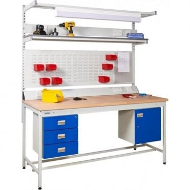 Square Tube Workbench 250kg UDL