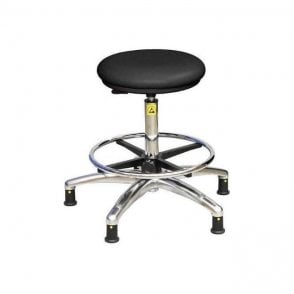 Static Dissipative Clean Room High Stool