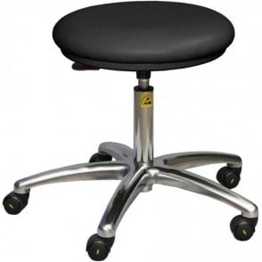 Static Dissipative Clean Room Stool