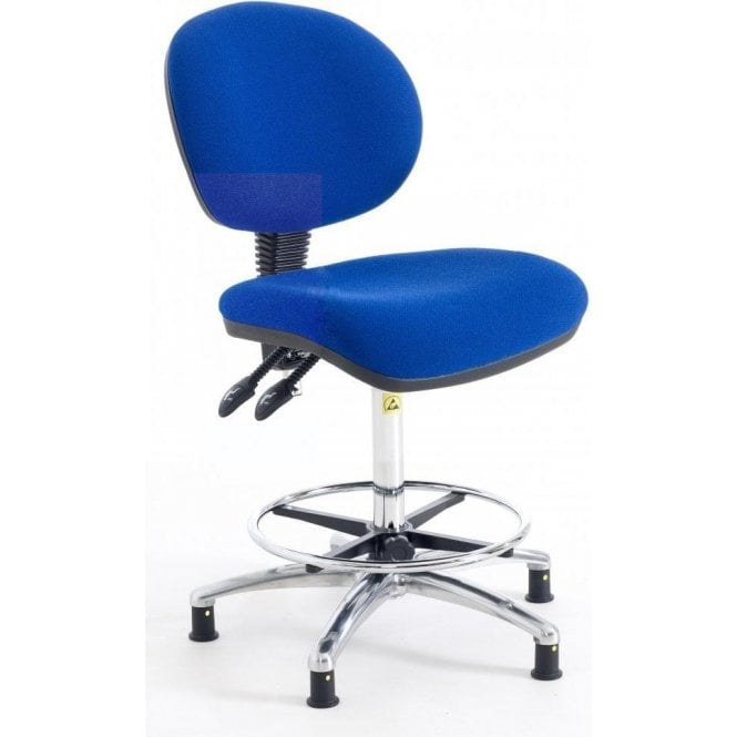 Static Dissipative High Fully Ergonomic Chair