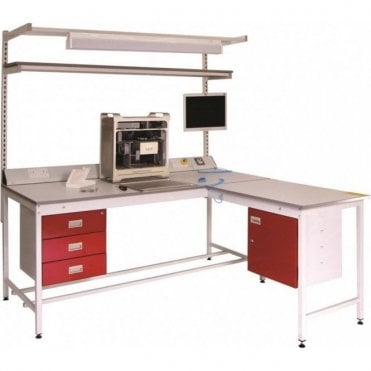 Static Dissipative Square Tube Workbench 250kg UDL