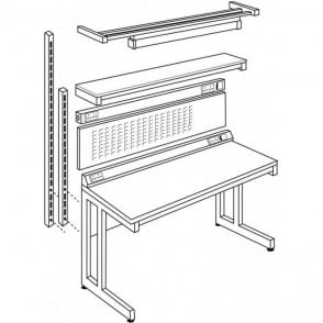 Static Dissipative Workbench Accessories