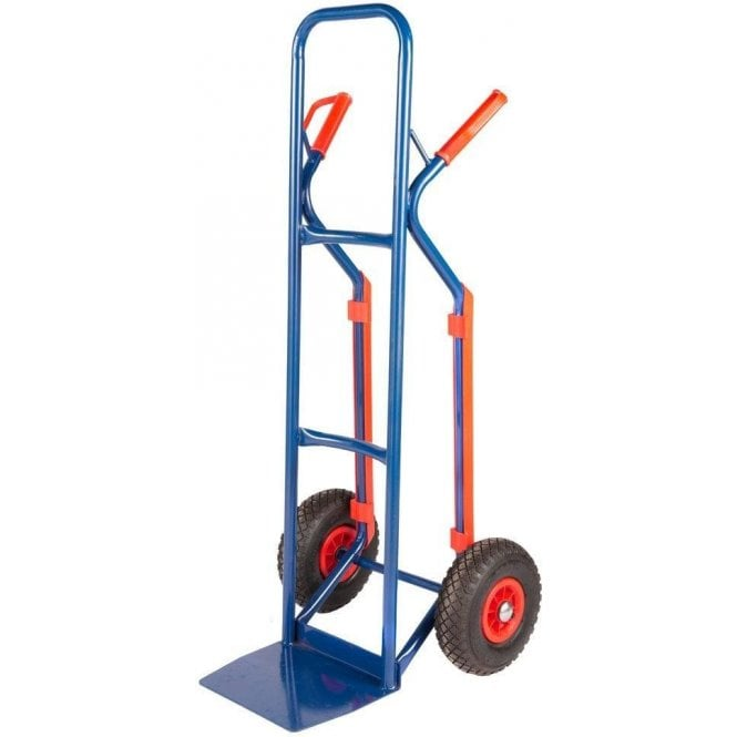 Steel Sack Truck with Plastic Guarded Skids