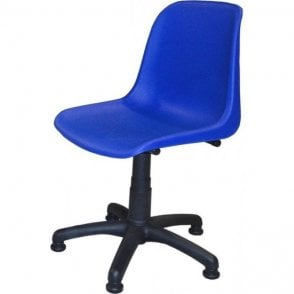 Student Computer Chair on Glides