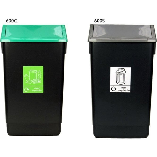 Swing Lid Bins