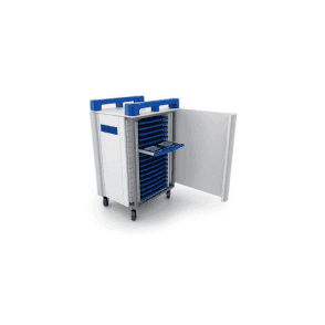 TabCabby 32H 32 port tablet trolley - horizontal storage