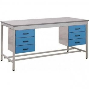 Taurus Utility Workbench with 2 x Triple Drawers