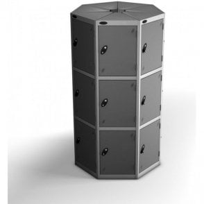 Three Tier Large Seed Pod Locker