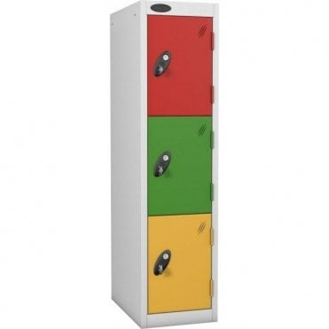 Three Tier Low Locker