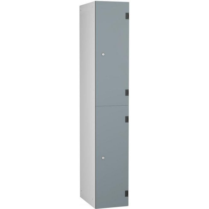 Two Compartment Solid Grade Laminate Door Locker