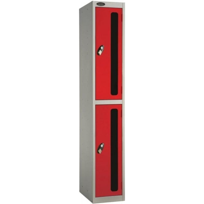Two Compartment Vision Door Lockers