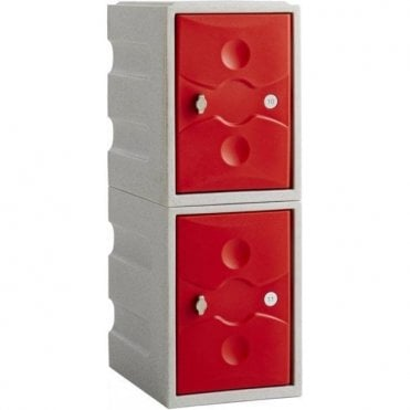 Two Door Mini Ultrabox Plastic Lockers