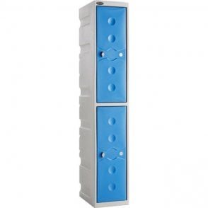 Two Door Ultrabox Plastic Lockers