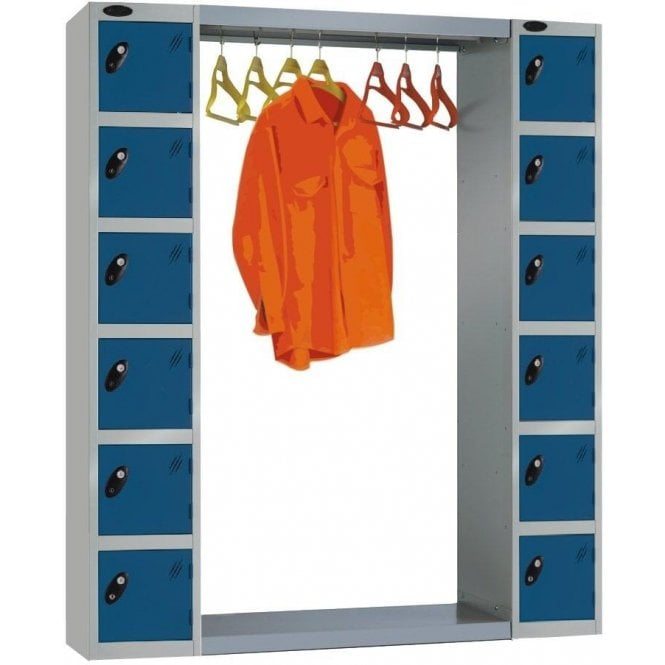 Type A Cloakroom Hanging Unit for Lockers
