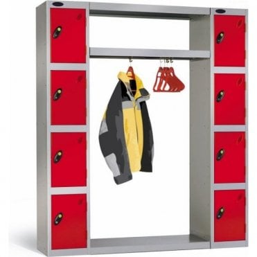 Type B Cloakroom Hanging Unit for Lockers