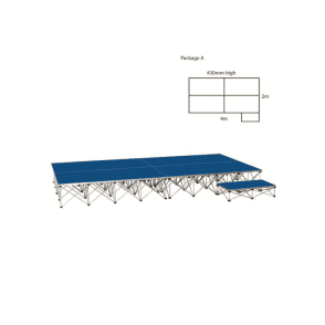 Ultralight Stage Package A Width4000 x Depth2000mm