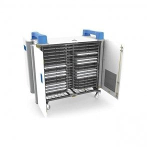UniCabby 32H - 32 port mixed device trolley - horizontal storage