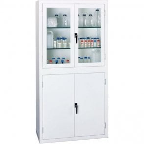 Visible Storage Cabinet - Split ViewCab