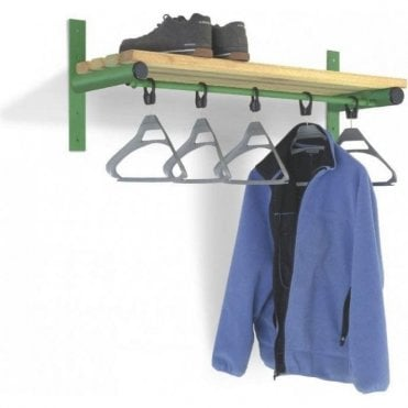 Wall Mounted Shelf & Rail - Type E