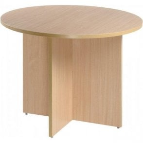 X Leg Circular Meeting Tables