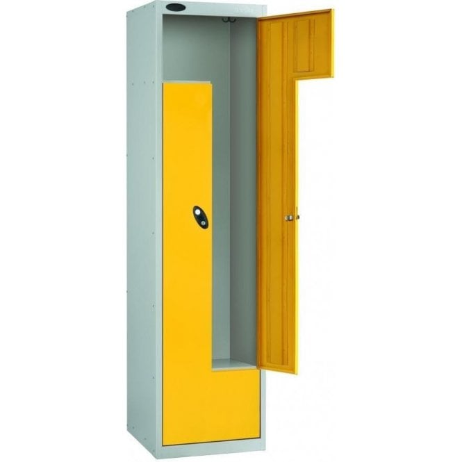 Z Door Locker with Metal Doors